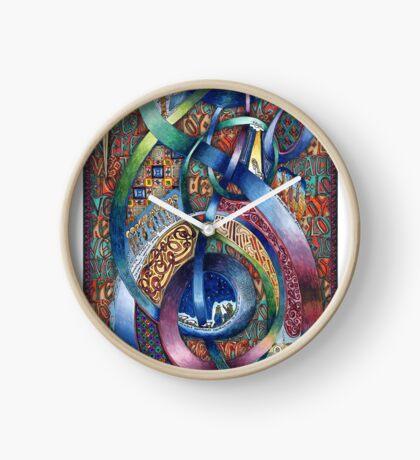 Follow Him - Original Clock
