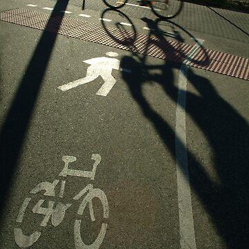 morning cyclist, Perth, Western Australia by nickpage