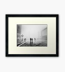 Venetianischer Nebel, Venedig, Italien Gerahmtes Wandbild