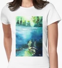 Duality Womens Fitted T-Shirt