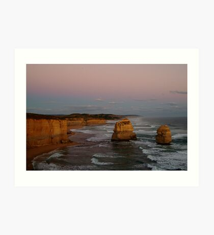 Twilight Twelve Apostles,Great Ocean Rd Art Print