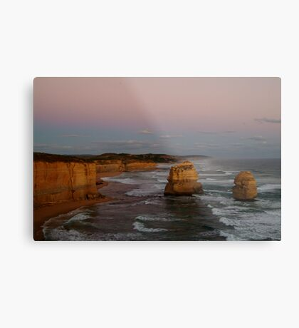 Twilight Twelve Apostles,Great Ocean Rd Metal Print