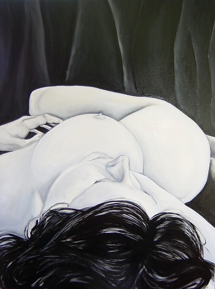 B & W Nude by Eva Fritz