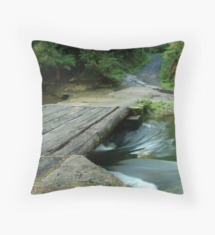 Aire Crossing Otway Ranges Throw Pillow