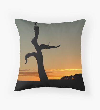 Cockatoo's Nest,Geelong District Throw Pillow