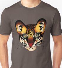 Wild Cat Ocelot Huntress Unisex T-Shirt