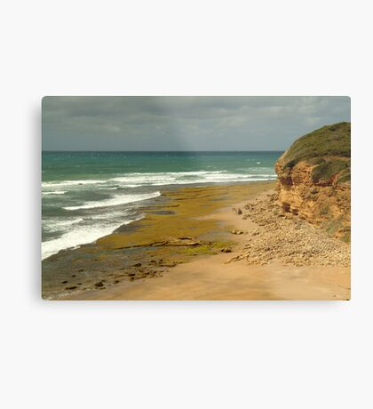 Foreshore Bells Beach,Great Ocaen Road Metal Print