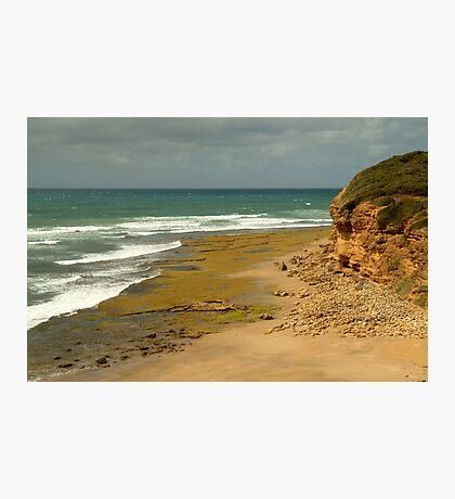 Foreshore Bells Beach,Great Ocaen Road Photographic Print