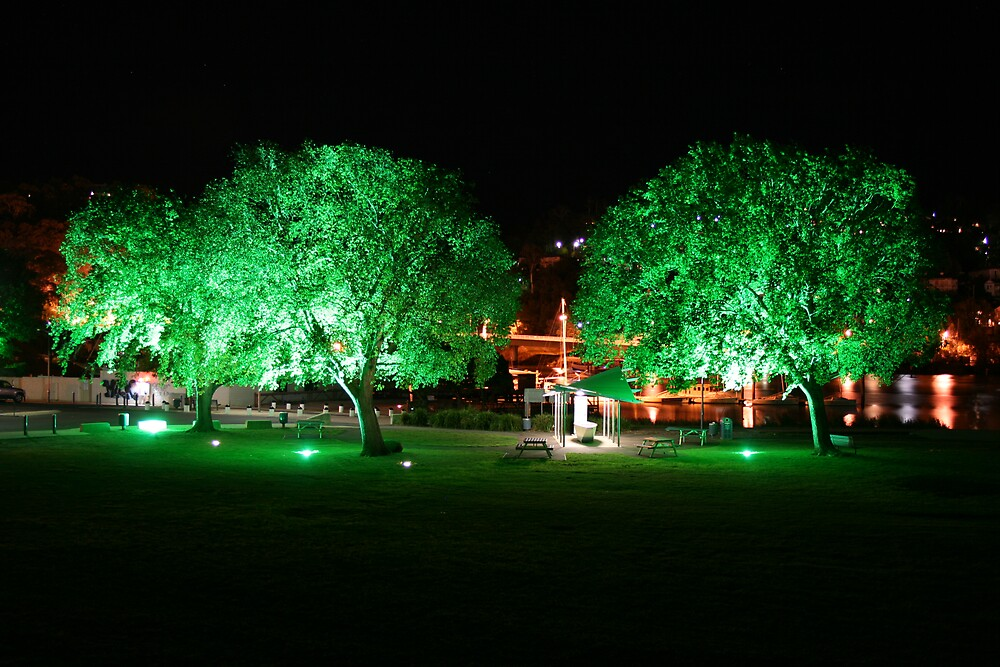 Launceston at Night by Ben Campbell