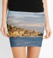 Sibenik from the sea Mini Skirt