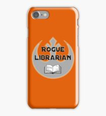 Rogue Librarian iPhone Case/Skin