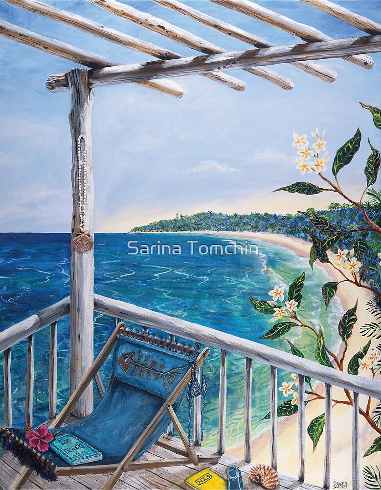 Beach by Sarina Tomchin