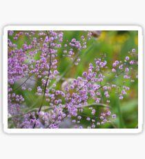 Purple Gypsophila  Sticker