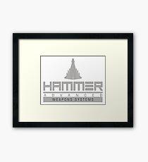 Hammer Industries Framed Print
