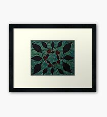 Crown of Threes Framed Print