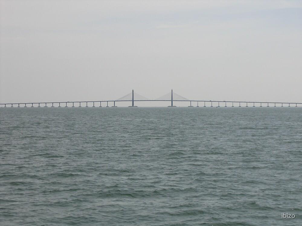 Penang Bridge, Malaysia by ibizo