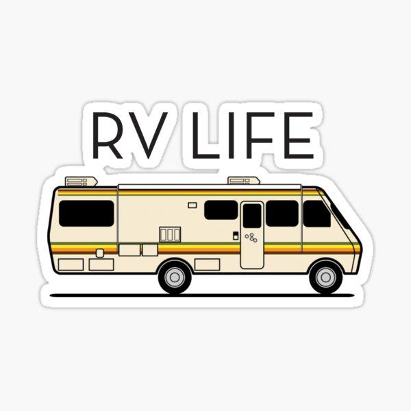RV Life Sticker