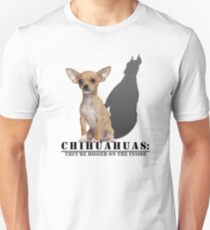 Chihuahuas: They're bigger on the inside Unisex T-Shirt