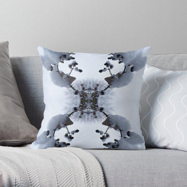 Snow Bow #1 Throw Pillow