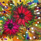 The Flowers in My Son's Garden by © Angela L Walker