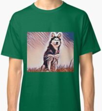 The Alaskan Malamute Classic T-Shirt