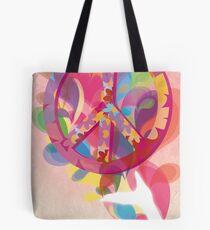 Art Hippie Tote Bag