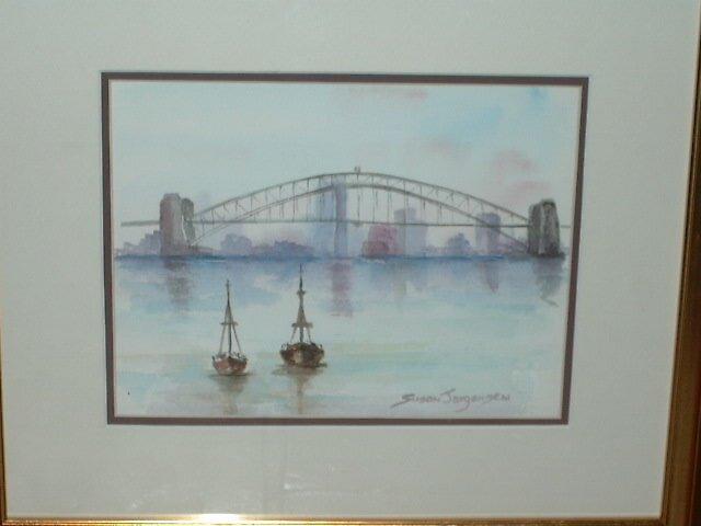 Boats under Bridge by SusanJ