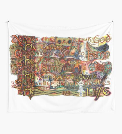 A.C.T.S. Wall Tapestry