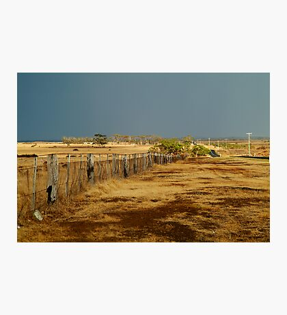 Country Road,Rural Geelong Photographic Print