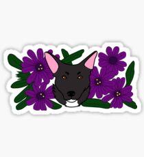 Zoe Dog Sticker