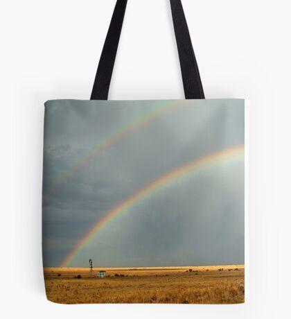 Rain and Rainbows,Rural Geelong Tote Bag