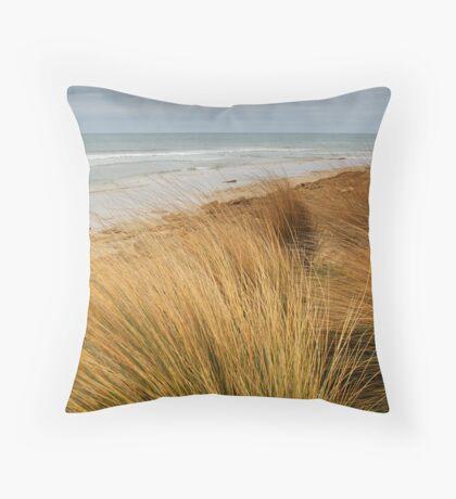 Bancora Surf Beach,Bellarine Peninsula Throw Pillow