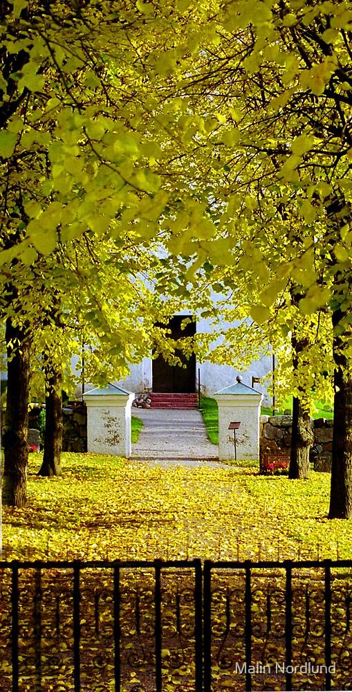 Church road by Malin Nordlund