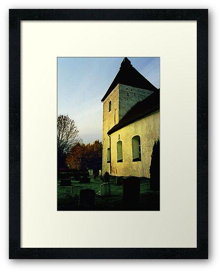 Church in Sweden by Malin Nordlund