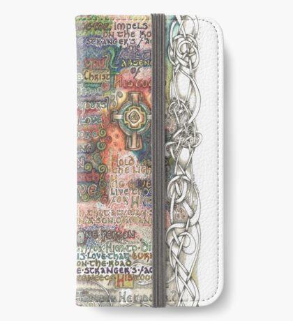 St. Aidan of Lindisfarne iPhone Wallet