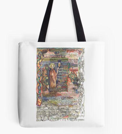 St. Aidan of Lindisfarne Tote Bag