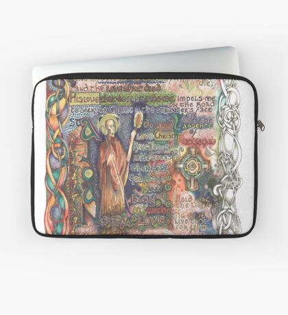 St. Aidan of Lindisfarne Laptop Sleeve