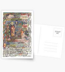 St. Aidan of Lindisfarne Postcards