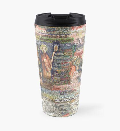 St. Aidan of Lindisfarne Travel Mug