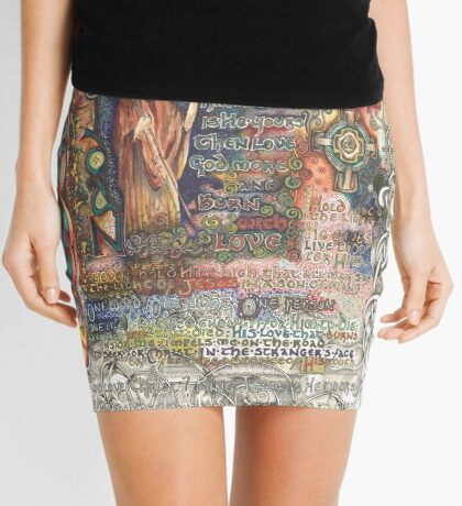 St. Aidan of Lindisfarne Mini Skirt