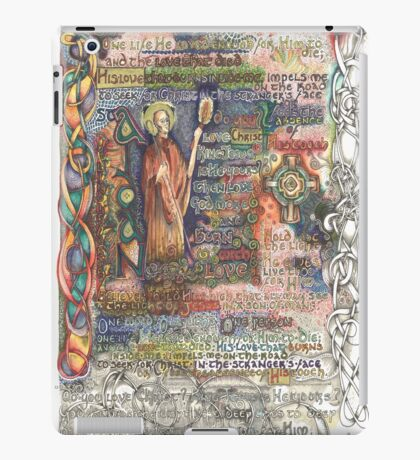 St. Aidan of Lindisfarne iPad Case/Skin