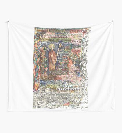 St. Aidan of Lindisfarne Wall Tapestry