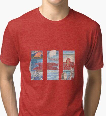 Stories of St. Aidan Tri-blend T-Shirt