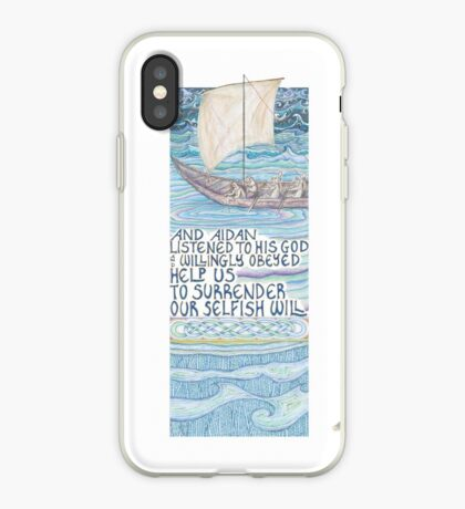 Stories of St. Aidan iPhone Case