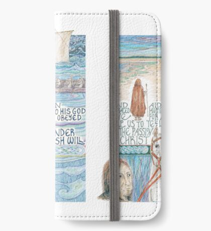 Stories of St. Aidan iPhone Wallet