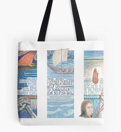 Stories of St. Aidan Tote Bag