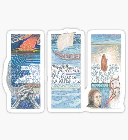 Stories of St. Aidan Sticker