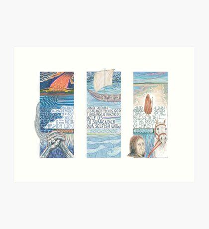 Stories of St. Aidan Art Print