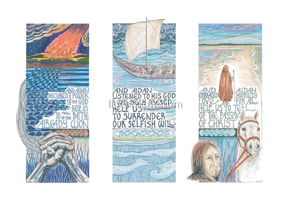 Stories of St. Aidan by lindscriptorium