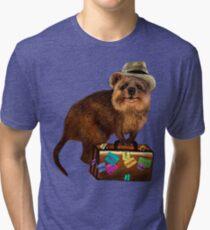 Traveller // quokka Tri-blend T-Shirt